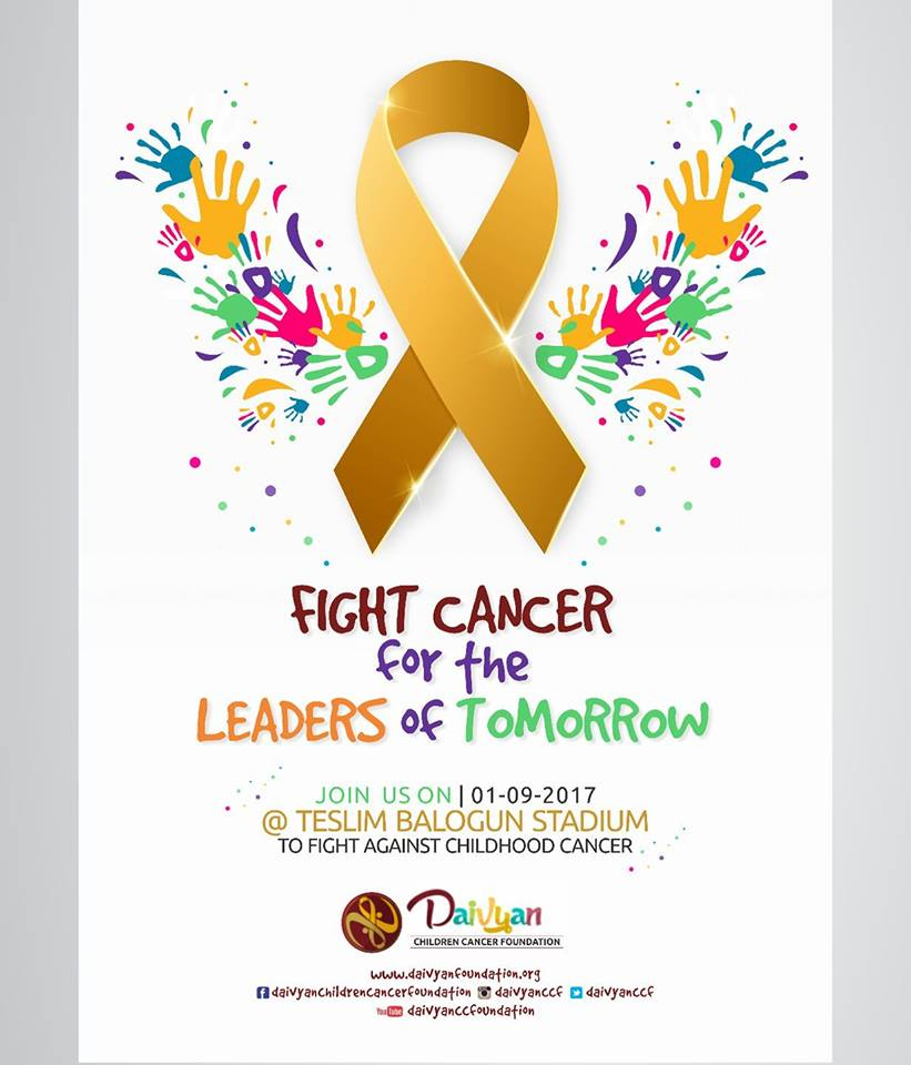Fight Cancer For the Leaders of Tomorrow - #GoGoldInSeptember