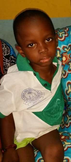 Rest in Peace Little Soldier - Emmanuel Adegbola