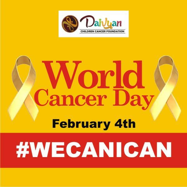 DCCF Celebrates World Cancer Day #ChildhoodCancerSucks
